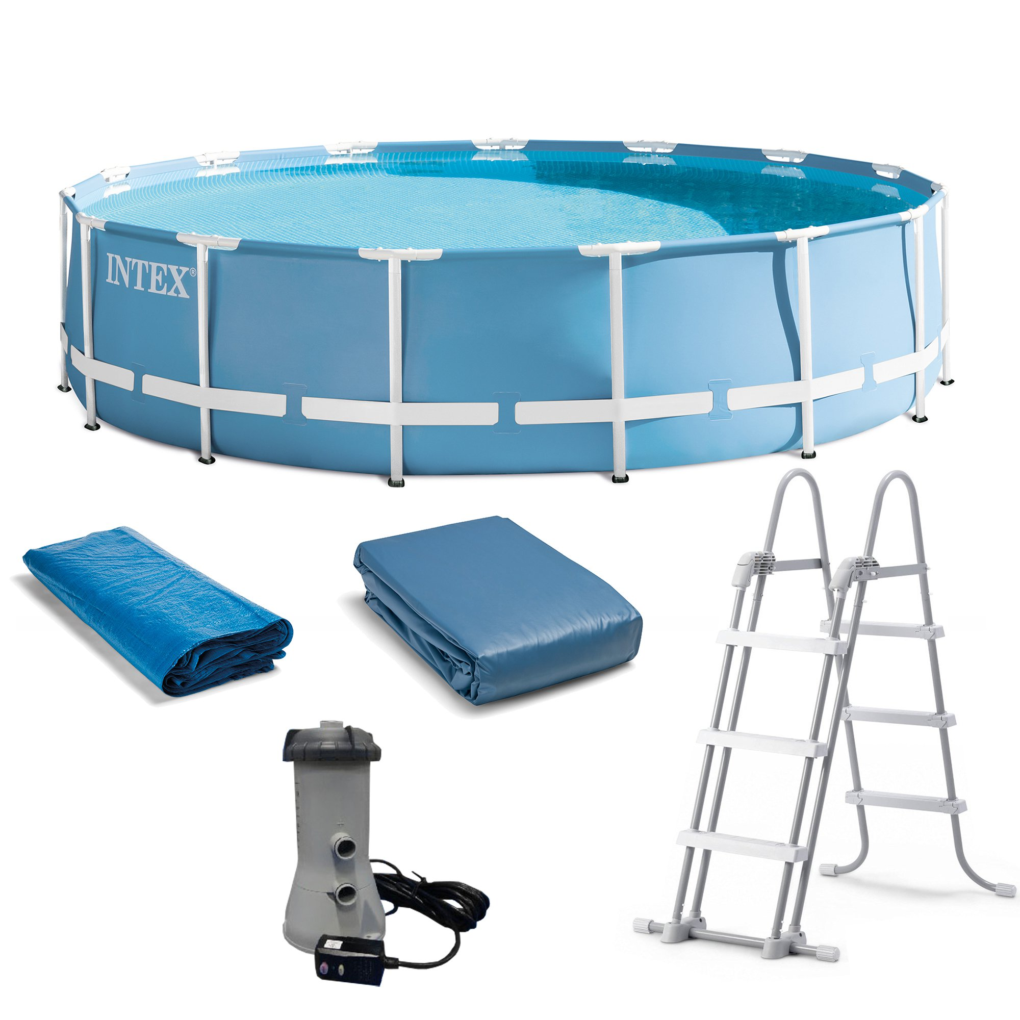 Piscina Intex Familiar Alberca Intex 4440 Galones 15 Pies X 48 Pulgadas