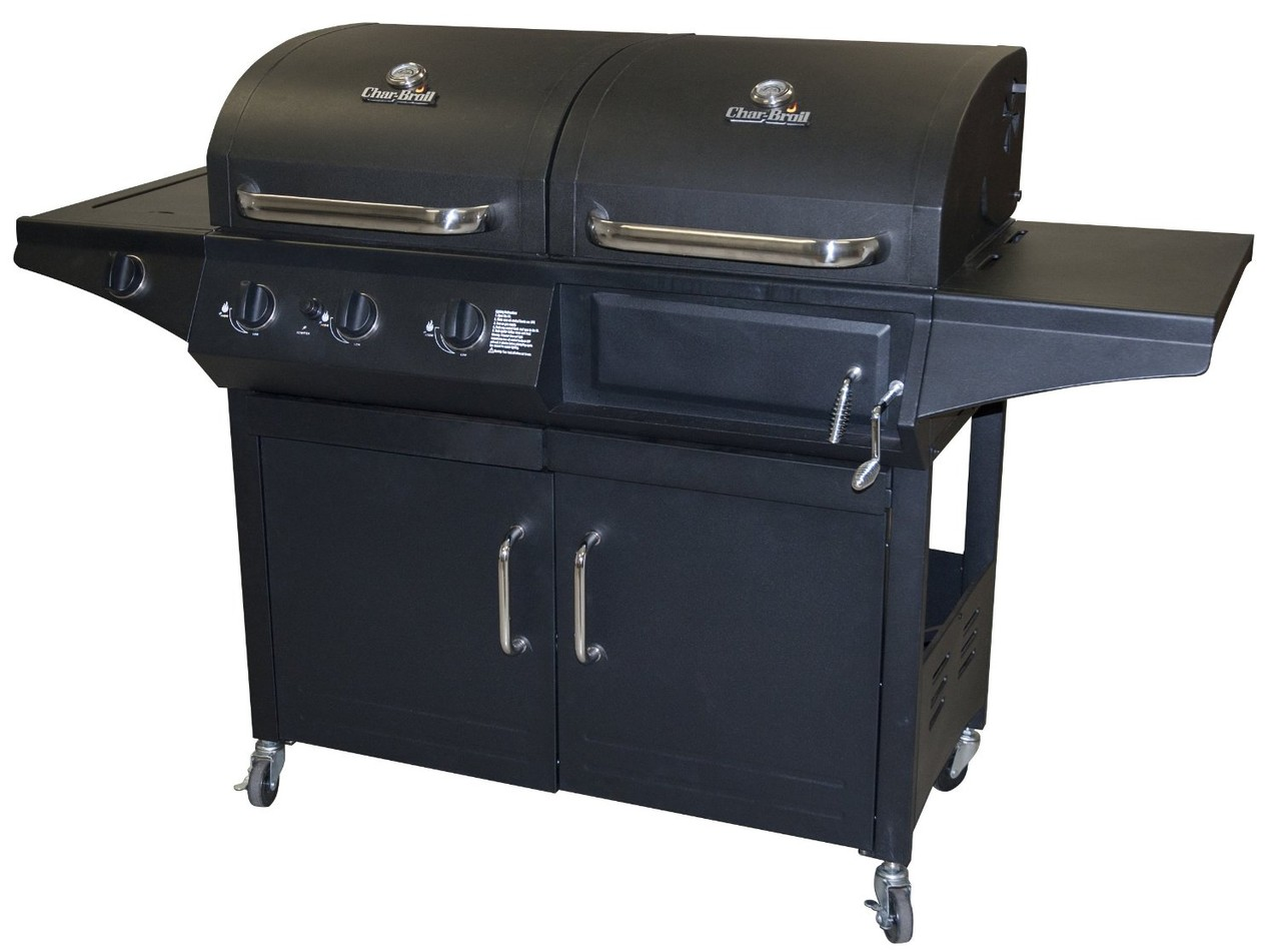 Barbacoas De Gas Y Carbon Asador De Gas Y Carbon Duo Char Broil Modelo 463724511