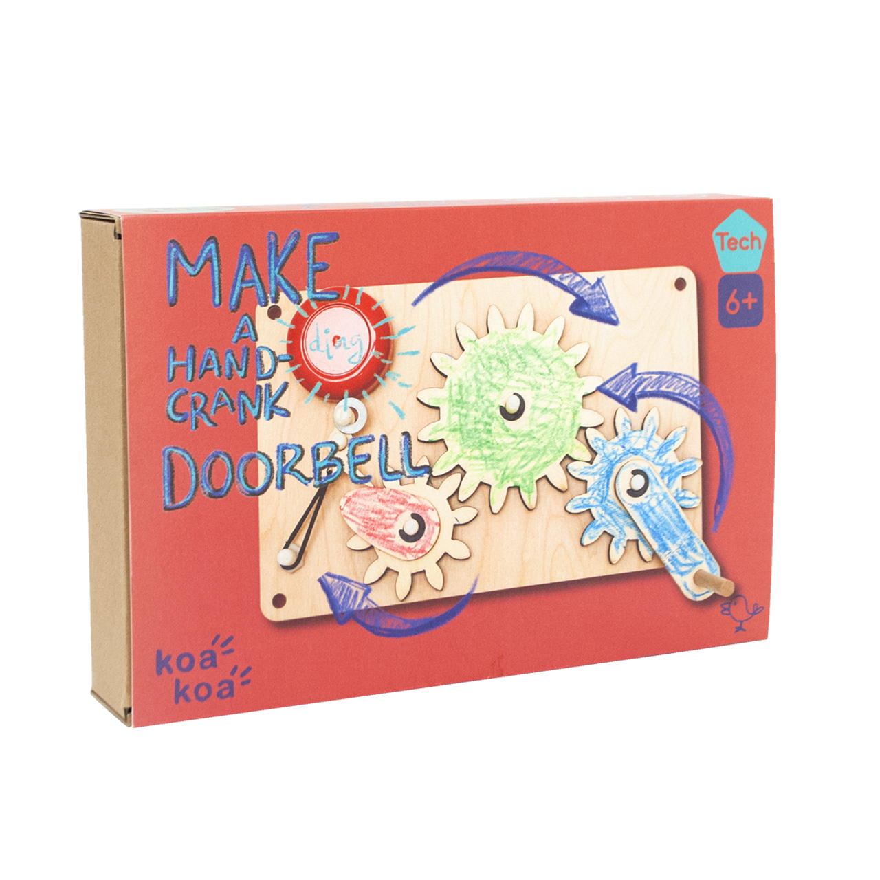 Koa Koa Make Your Own Doorbell Zuckerfrei Kids Concept Store