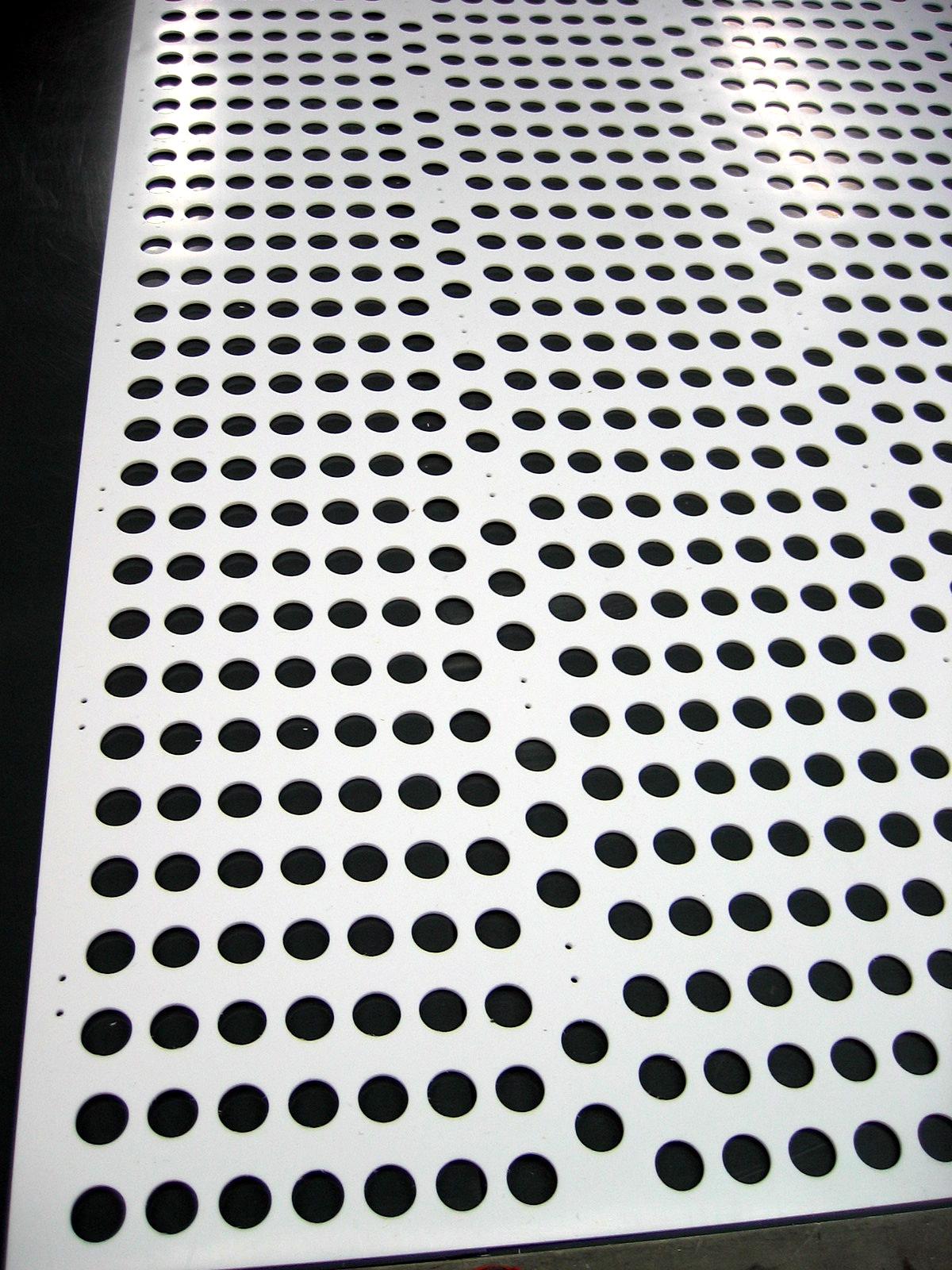 Kunststoff Lochplatten Deckenpaneele Kunststoff Kleben
