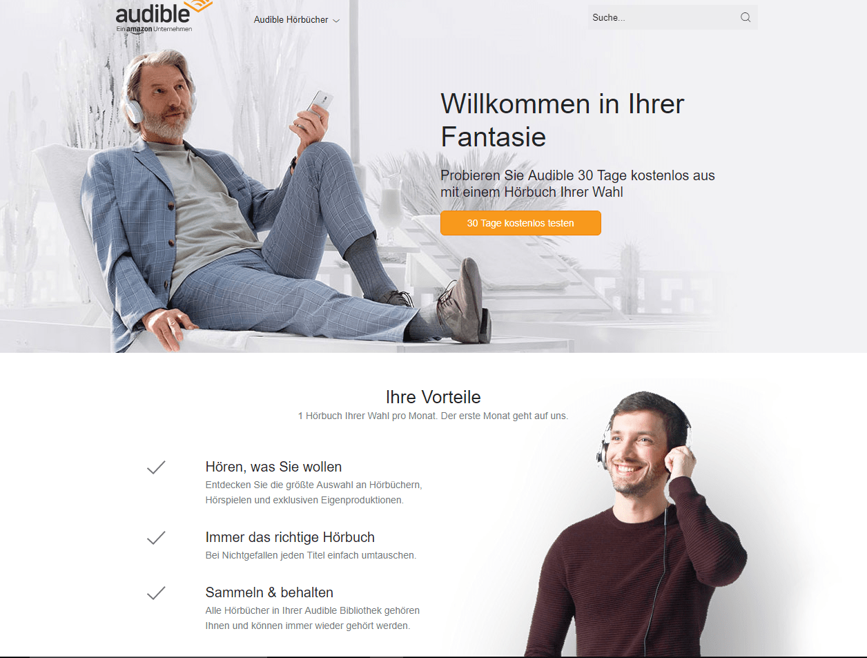 Amazon Audible Kostenlos Home Dein Abo Portals Webseite