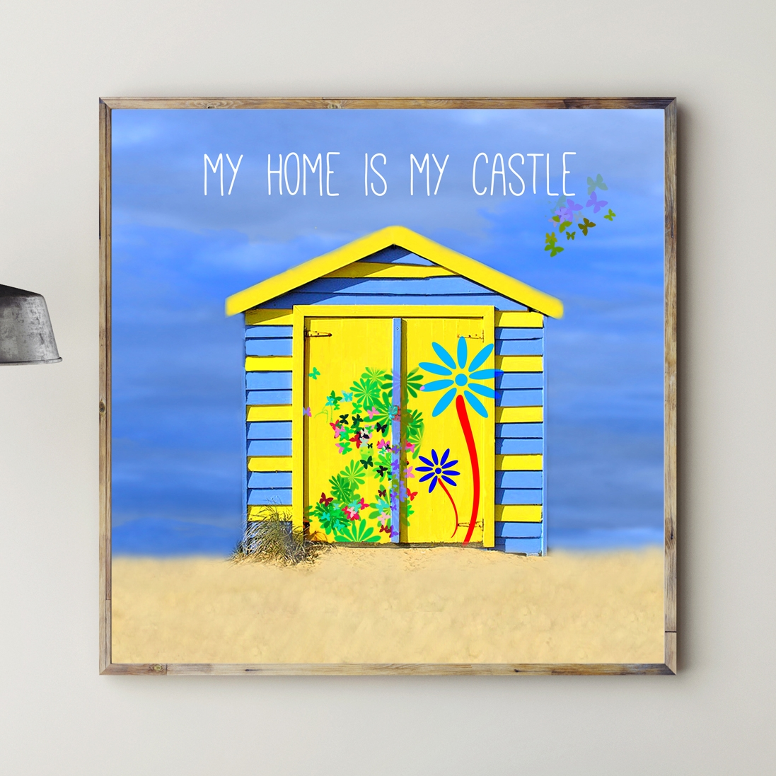 Kunstdrucke Online Kunstdruck My Home Is My Castle