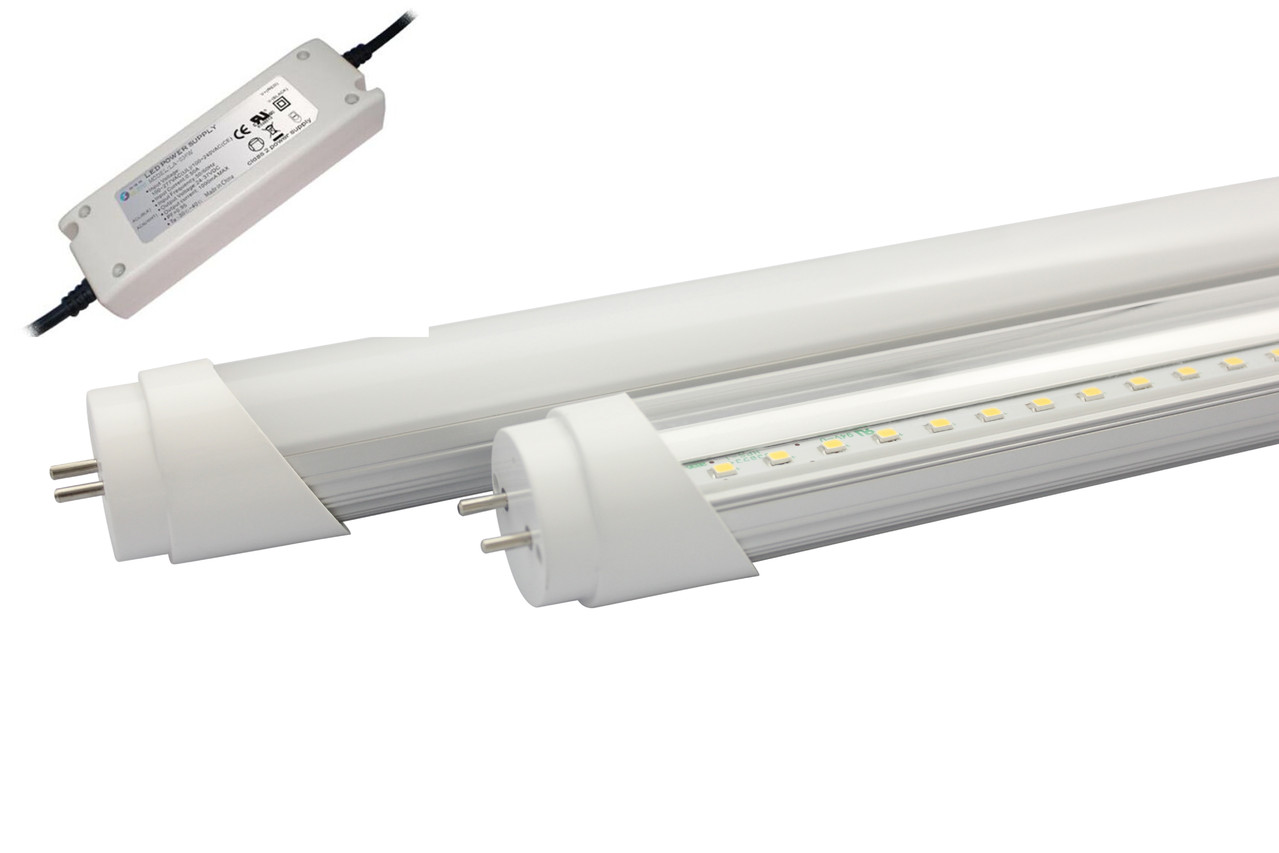 Plafoniera Led 150 Cm : Attacco t8 neon tubo led 60 cm 9w luce naturale alcapower 929950