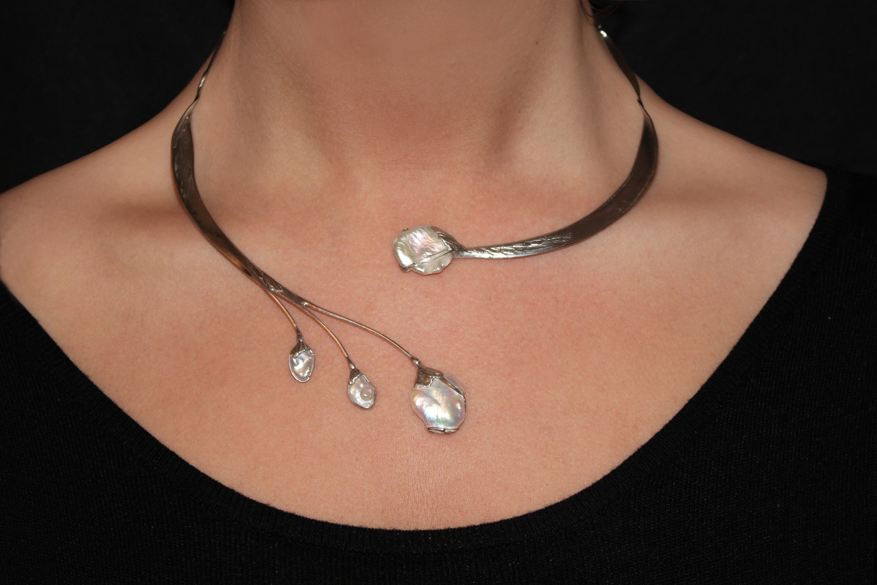 Collier Schmuck Colliers Silber Appelstyle Design And Accessoires