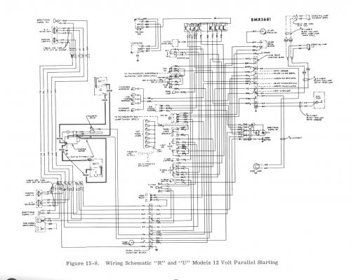 brake lights wiring diagram for r model mack