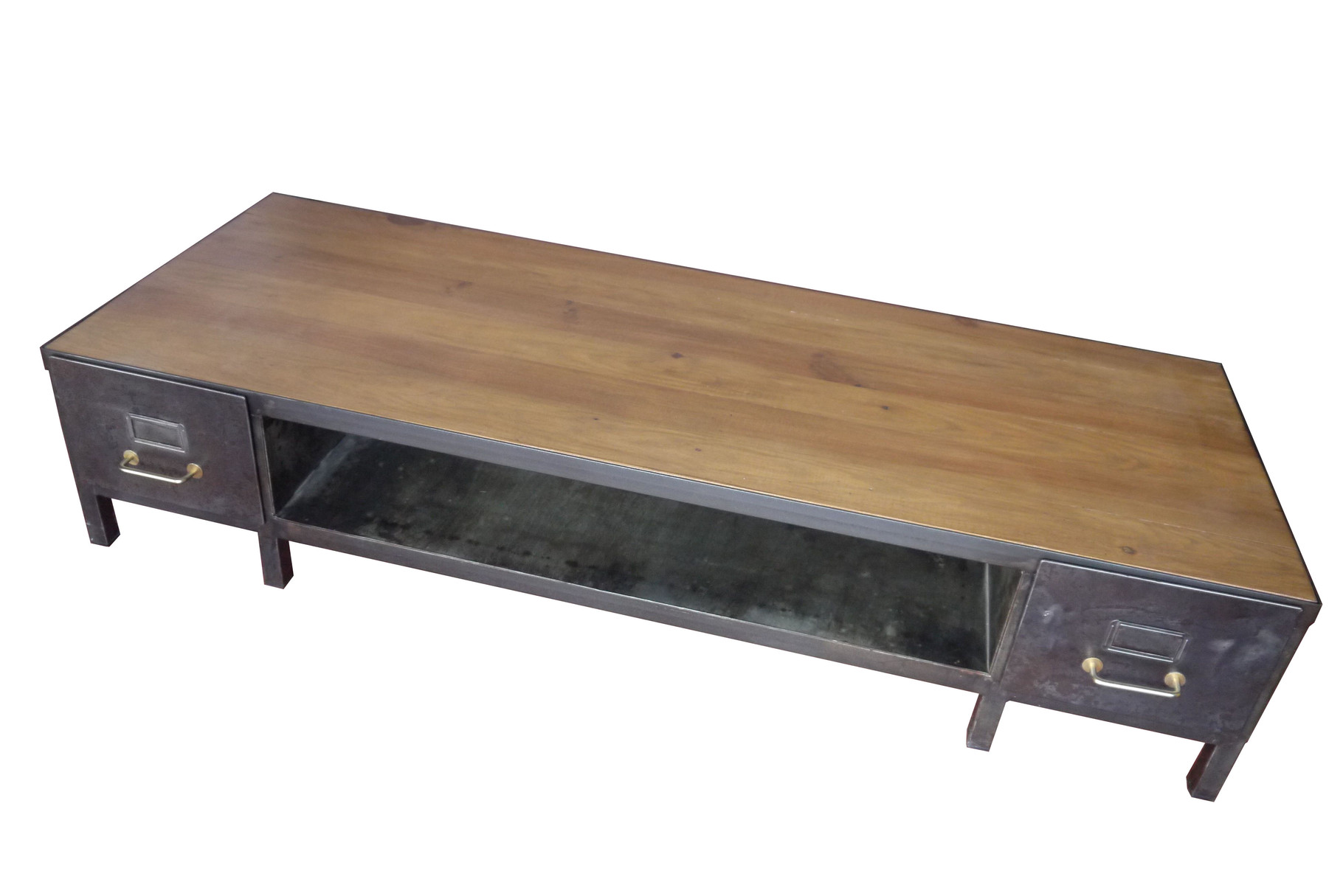 Meuble Tv Industriel Table Basse Meuble Tv Industriel Atelier Vintage