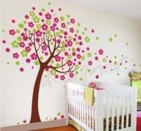 6 Cherry blossom tree - Leafy Dreams Nursery Decals ...