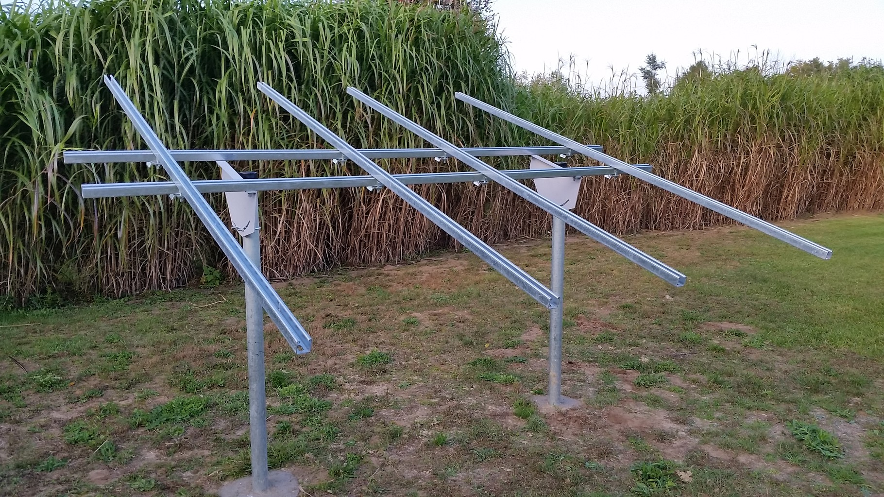 Diy Solar Panel Mount Build Your Ground Mount Solar Racking Kit Now Diy Solar
