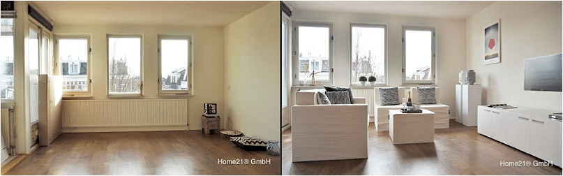 "Home Staging Preise Variante ""kartonmöbel"" - Home21® Gmh"