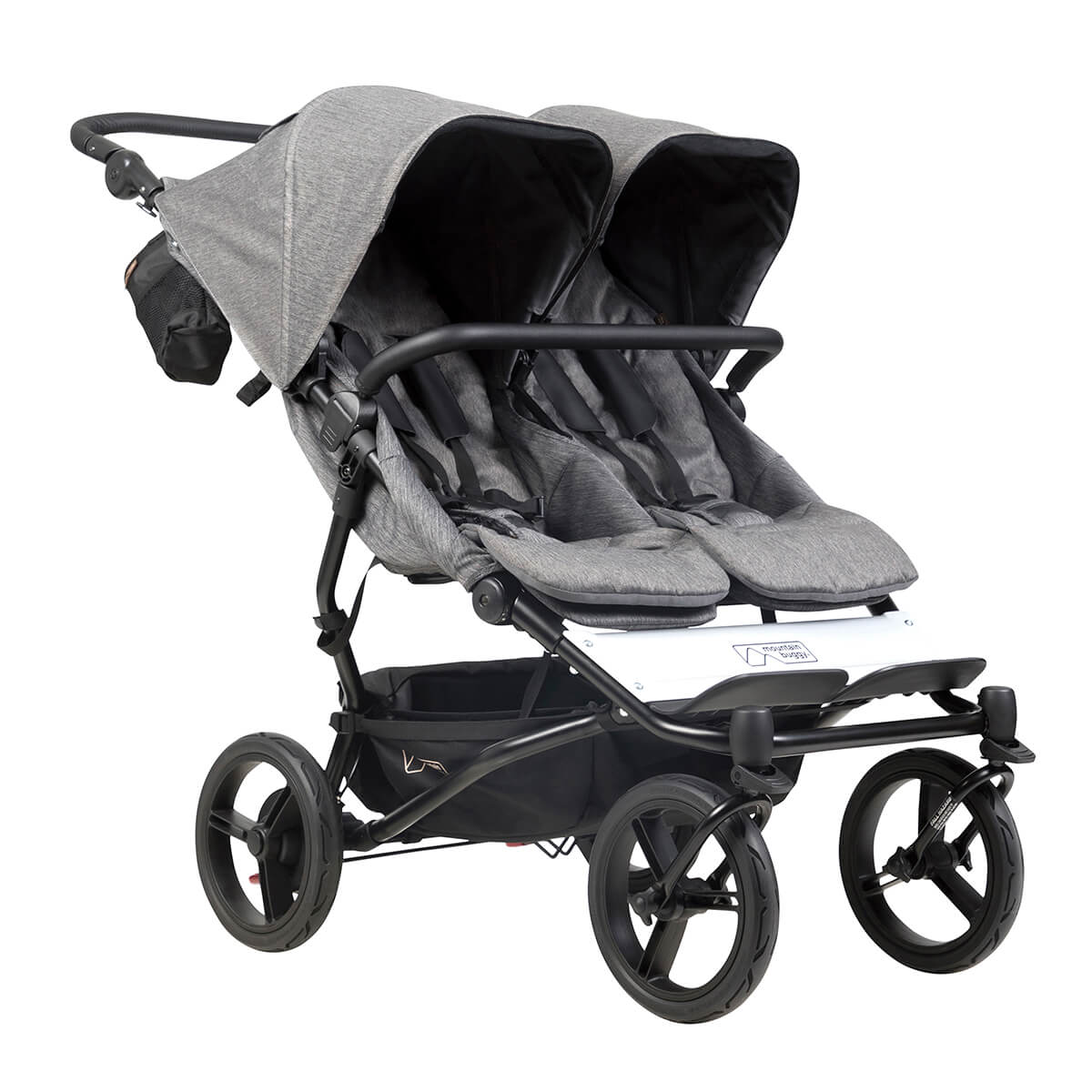 Doppel Kinderwagen Urban Jungle Mountain Buggy Duet Luxury Collection Herringbone