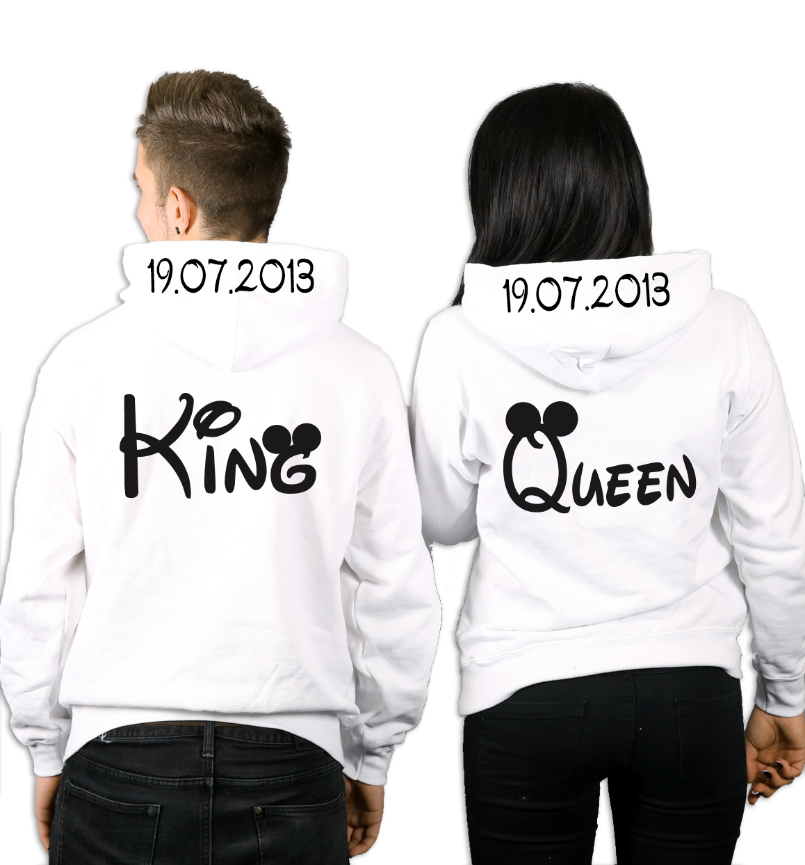 King Queen Bettwäsche Hoodies Pullover T Shirts Bedrucken Designlounge