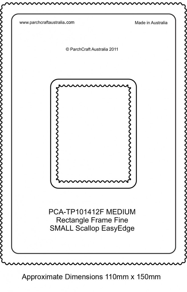 PCA Easy Edge Templates - Craft Supplies