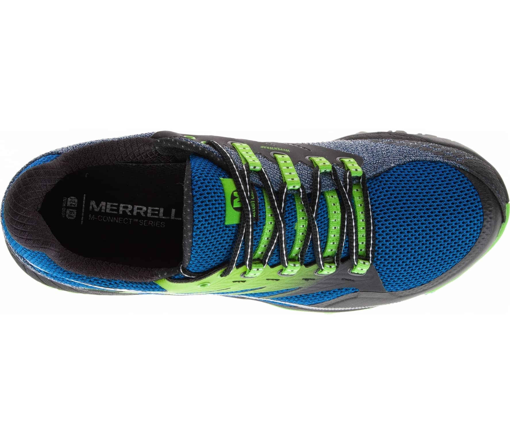 Blau Schuh Merrell All Out Charge Herren Mountain Running Schuh