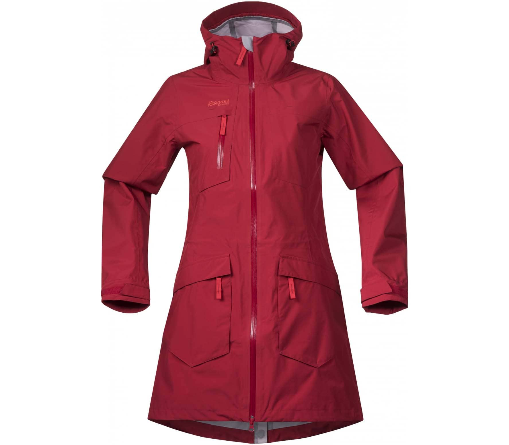 Hella Shop Bergans Hella Women S Raincoat Red