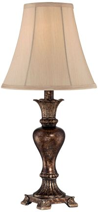 Xavier Bronze Urn Table Lamp - #1F747 | www.lampsplus.com
