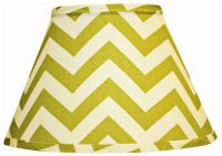 Village Green Chevron Lamp Shade 10x18x13 (Spider ...