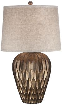 Buckhead Bronze Urn Table Lamp - #4C530 | www.lampsplus.com