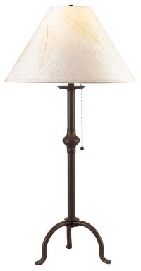 Craftsman Collection Pennyfoot Wrought Iron Table Lamp ...