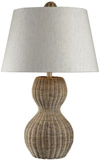 Dimond Sycamore Hill Rattan Table Lamp - #7P899 ...