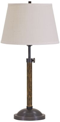 House of Troy Richmond Adjustable Oiled Bronze Table Lamp ...