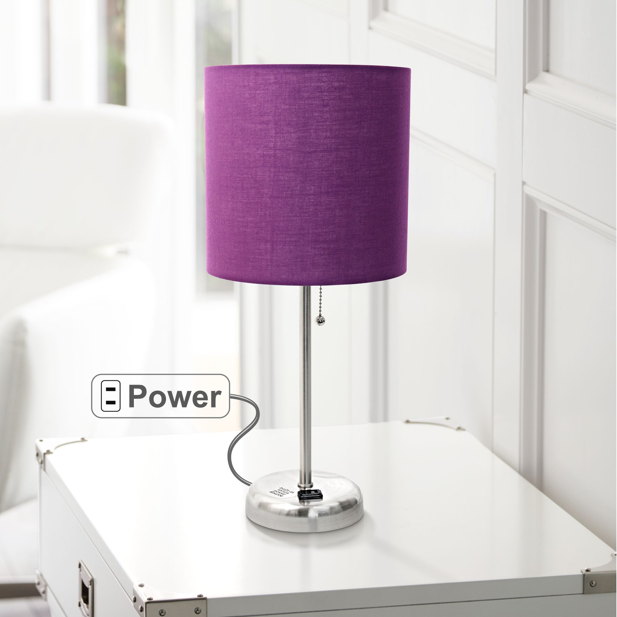 Table Lamps For Kids Purple Kids Accent Table Lamps Lamps Plus