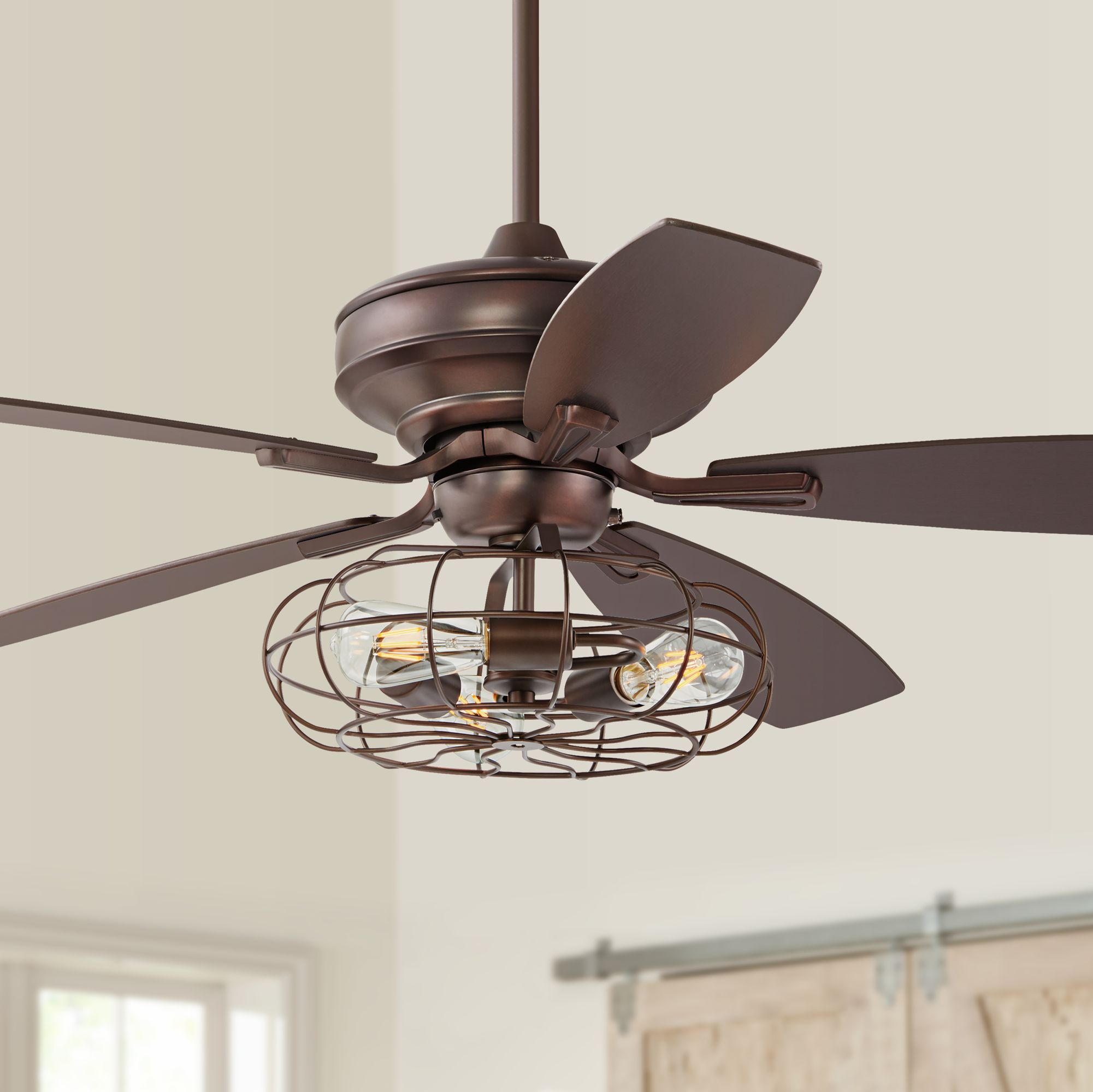 Rustic Style Ceiling Fans Rustic Lodge Low Profile Ceiling Fans Lamps Plus