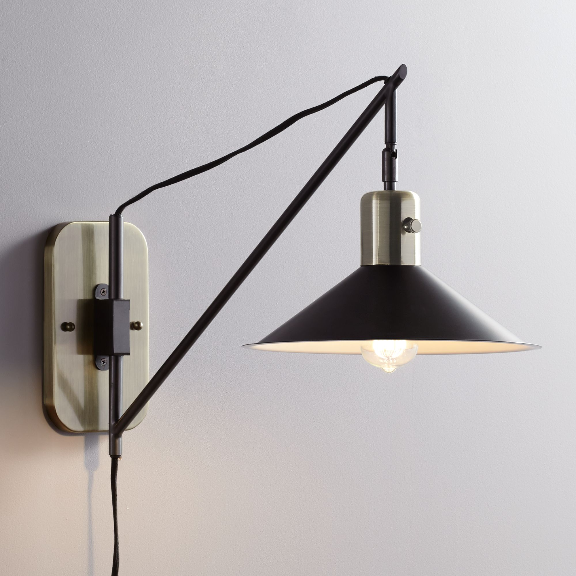 Swing Wall Lamp Swing Arm Wall Sconce Home Decor