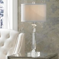 Aline Modern Crystal Table Lamp by Vienna Full Spectrum ...
