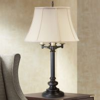 House of Troy Newport Oil Rubbed Bronze 6-Way Table Lamp ...