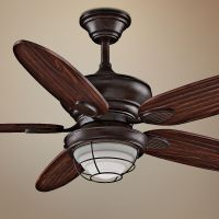 "52"" Fanimation Kaya Wet Location Ceiling Fan - #7K646 ..."