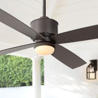 "52"" Strata Oil-Rubbed Bronze Ceiling Fan with Light ..."