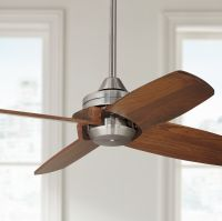 "32"" Casa Vieja Pronto Brushed Nickel Ceiling Fan"