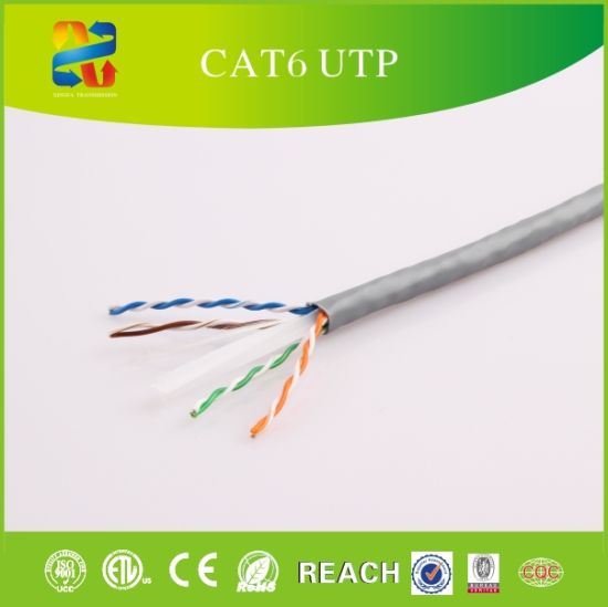China Category 6 UTP Color Code Network Cable with ETL - China UTP