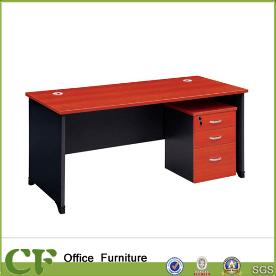 China Cherry Color Customize Wholesale MFC Wood Normal Office Table - office cd