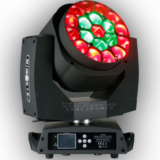 China 19pcsx15W RGBW Full Color LED Zoomable Big Bee Eye Stage Light