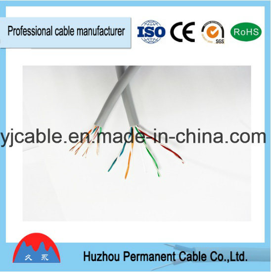 China Low Voltage Category 5 Ethernet Cable Cat5e 24AWG 4p 050mm