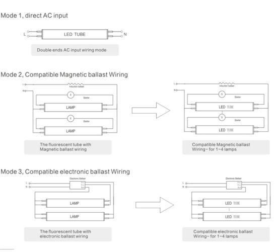 Ballast Wiring Diagram T8 Schematic Diagram Electronic Schematic