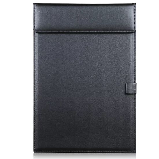 China Promotion Gift PU Leather Bill Folder Business Meeting Note - meeting note pad