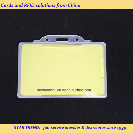 China Printed PVC ID Card Blank ID Card for Membership Solution
