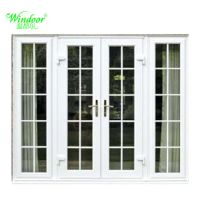 China PVC Casement Door with Grill Design - China Casement ...