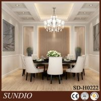 dining room coffered ceiling | www.Gradschoolfairs.com