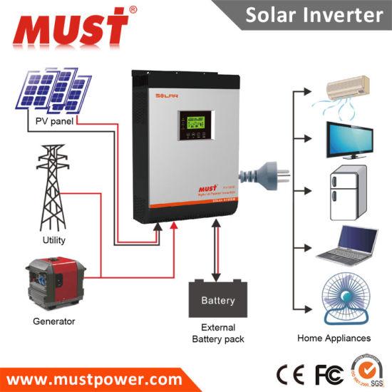 China Parallel Solar Inverter DC48V 4kVA 5kVA Max 6PCS - China