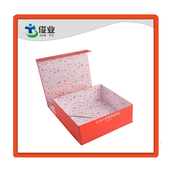 China High-End Luxury Custom Color Printing Folding Paper Box for