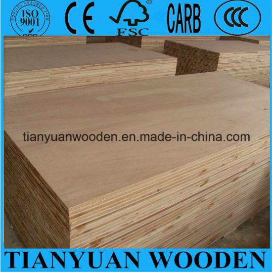 China Cheap 18mm Poplar / Pine / Paulownia / Falcata Core Blockboard