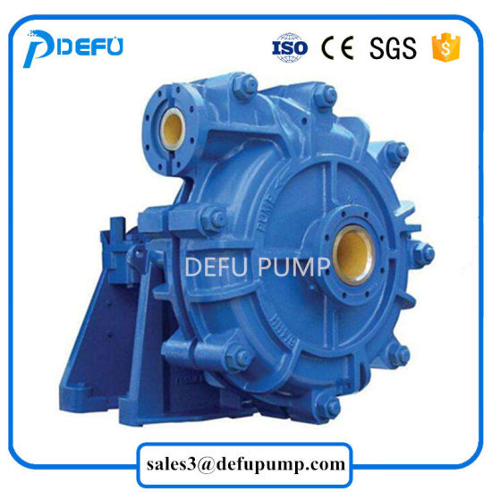 China High Density Liquid Transfer Slurry Centrifugal Pump for Big - liquid particles