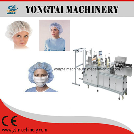China Nonwoven Medical Surgical Nurse Cap Making Machine - China