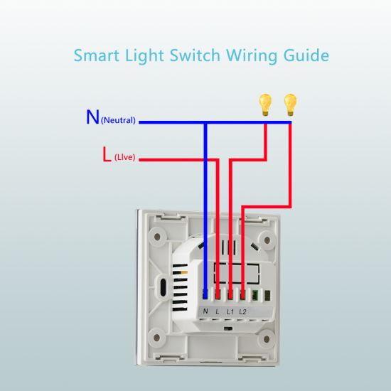 China Smart WiFi Wall Light Tact Switch - China Smart Light Switch