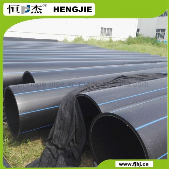 China PE4710 10 Inch HDPE Pipe for Water Supply PE100