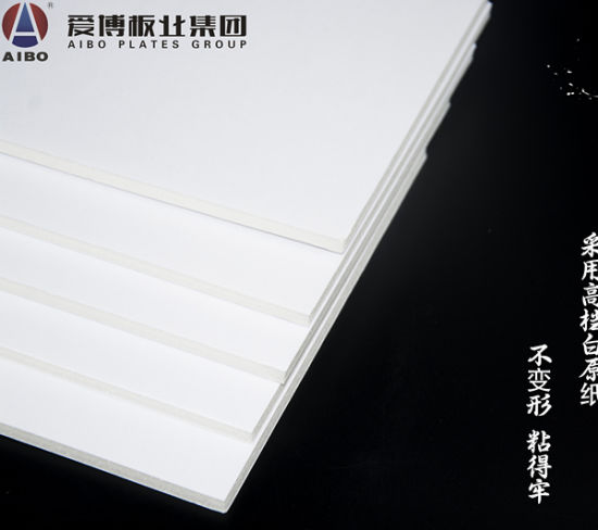 China Poster Sample Advertisement Board with Paper Stand - China
