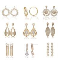 Dubai Gold Earrings Rosa For Gold Diamond Jewellery In ...